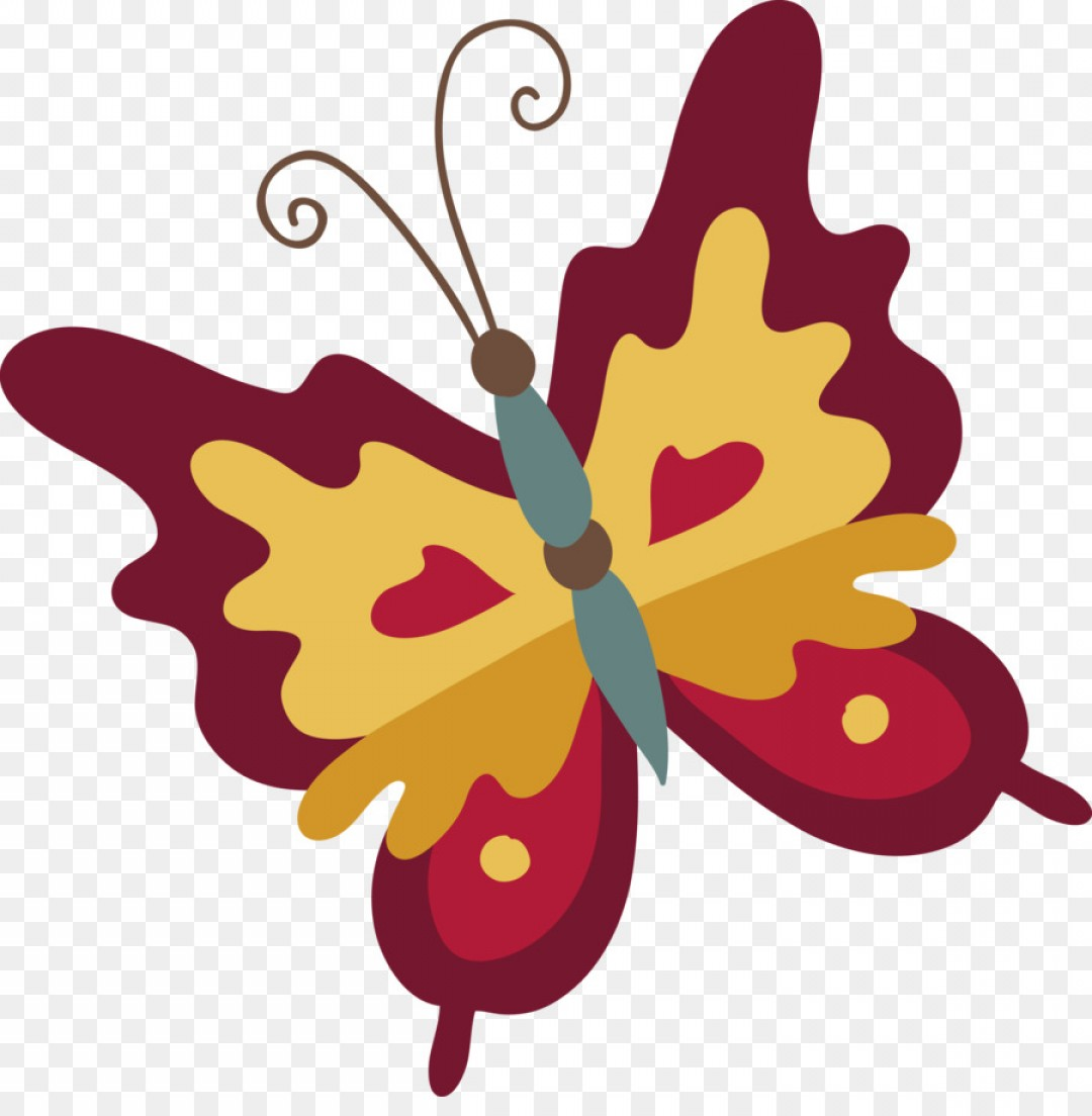 Butterly Vector: Png Monarch Butterfly Clip Art Butterfly Vector
