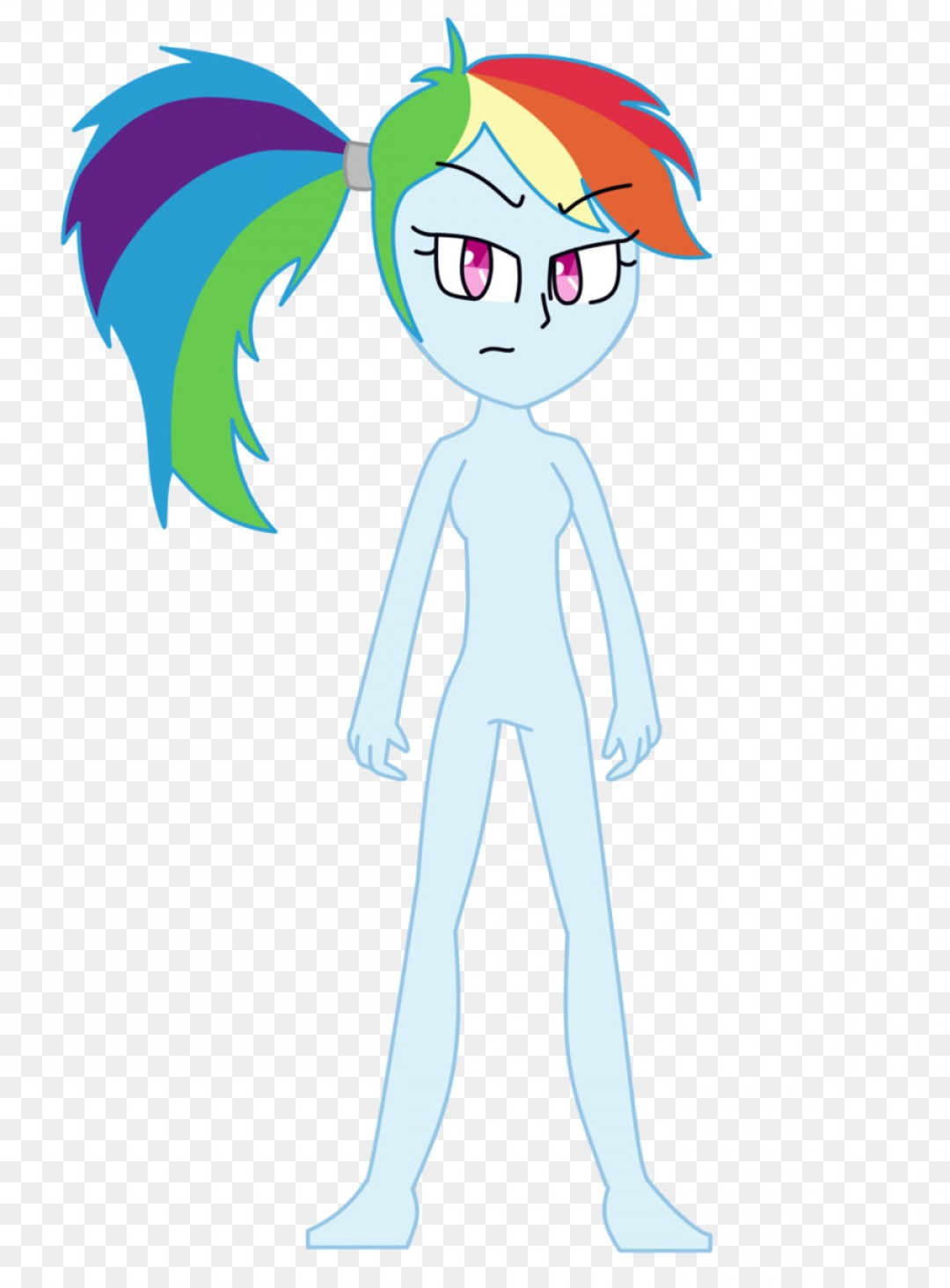 Angry Rainbow Dash Vector: Png Rainbow Dash Clip Art Vector Graphics Image Drawin