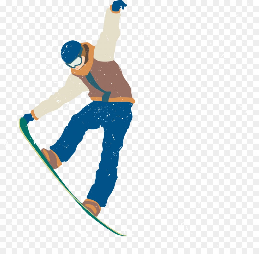 Transparent PNG Vector Skier: Png Skiing Download Vector Skiing People Skiing