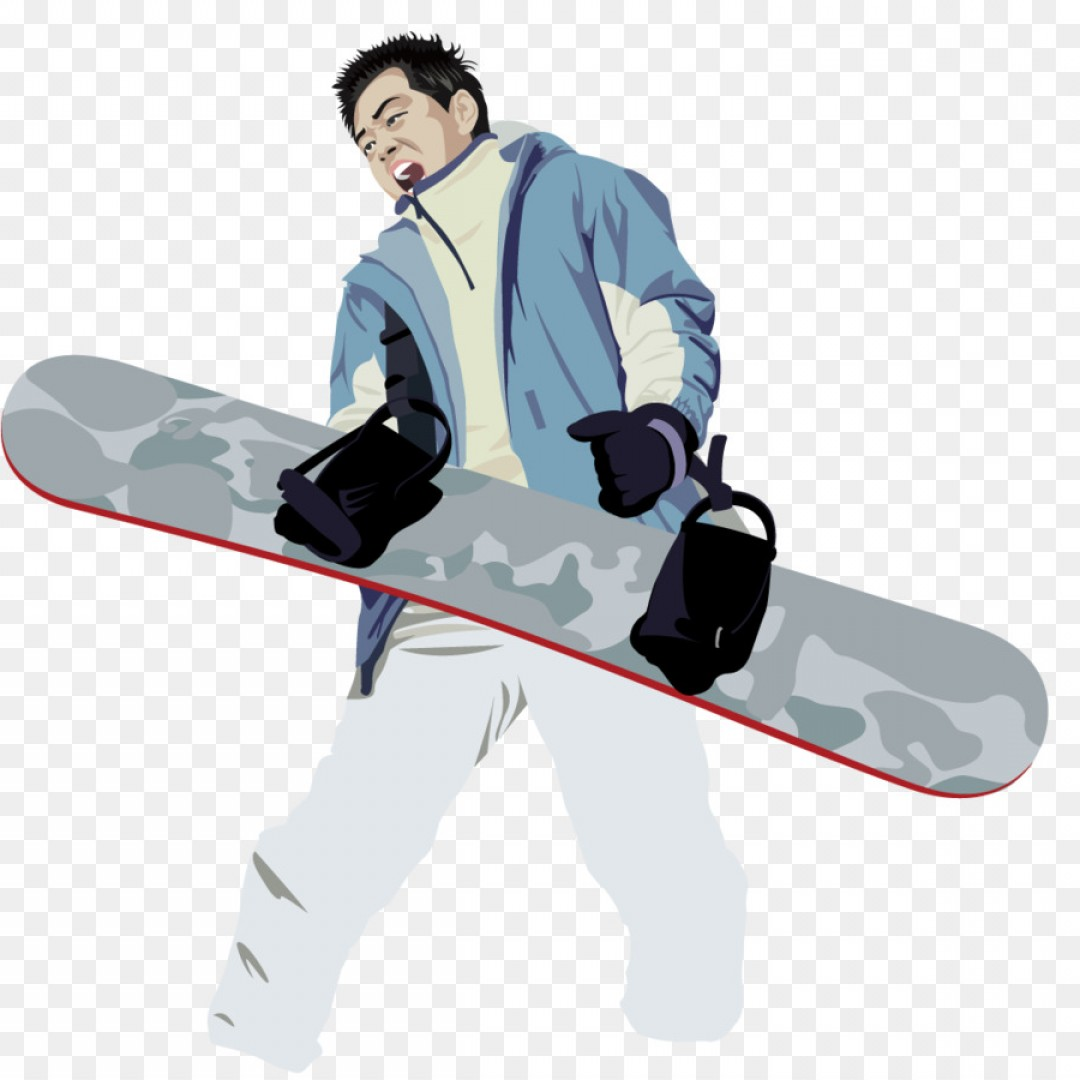 Transparent PNG Vector Skier: Png Skiing Snow We Went Skiing Vector