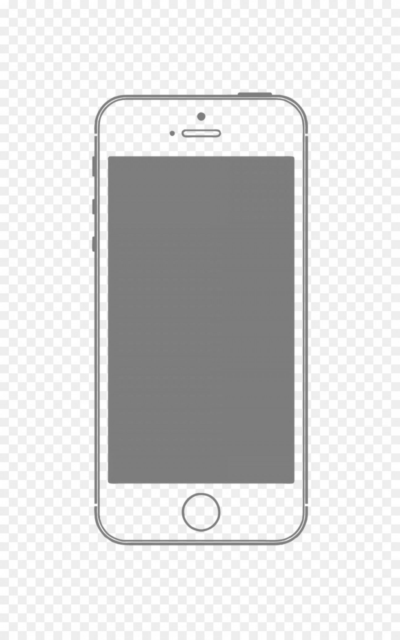 White IPhone Vector Png: Png Smartphone Feature Phone Vector Iphone Mobile Phon