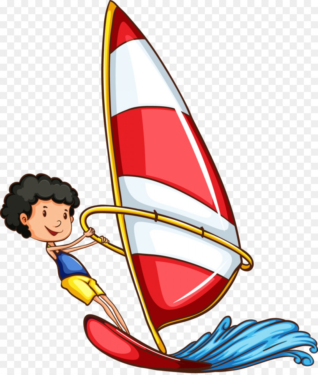 Transparent PNG Vector Skier: Png Sport Water Skiing Clip Art Foreign Student Moveme