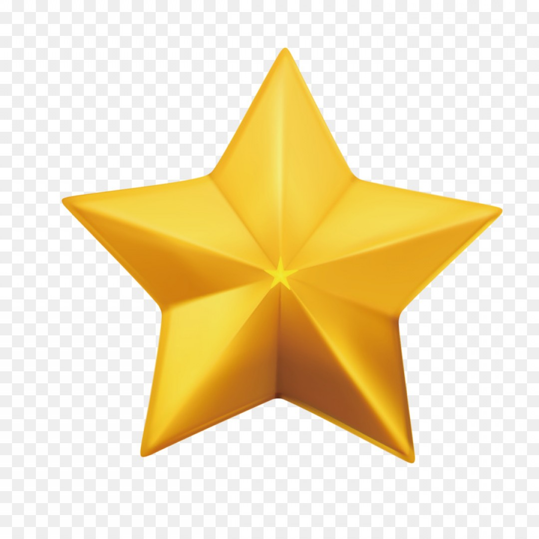 5 Point Star Vector Art: Png Star Vector Balls Free Icon Vector Gold Five Point