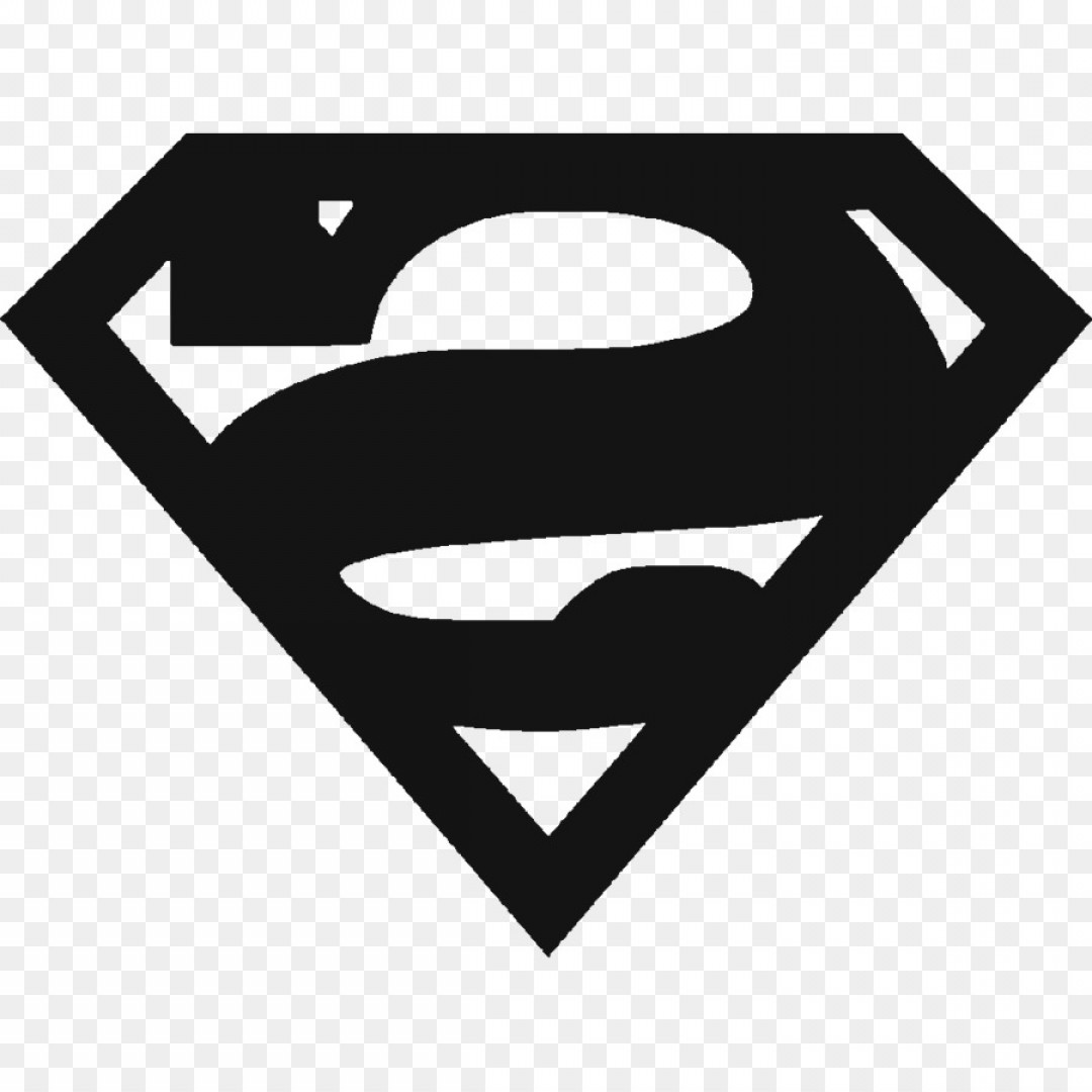 Superman Black And White Vector: Png Superman Logo Vector Graphics Green Lantern Sticke
