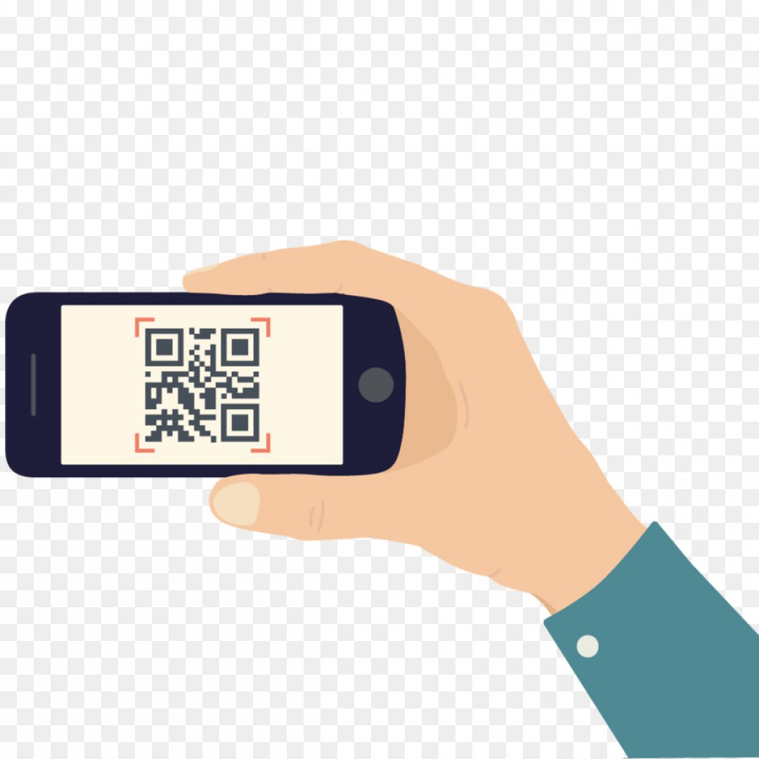 QR Mobile Phone Vector: Png Template Download Mobile Phone Qr Code Vector Crea