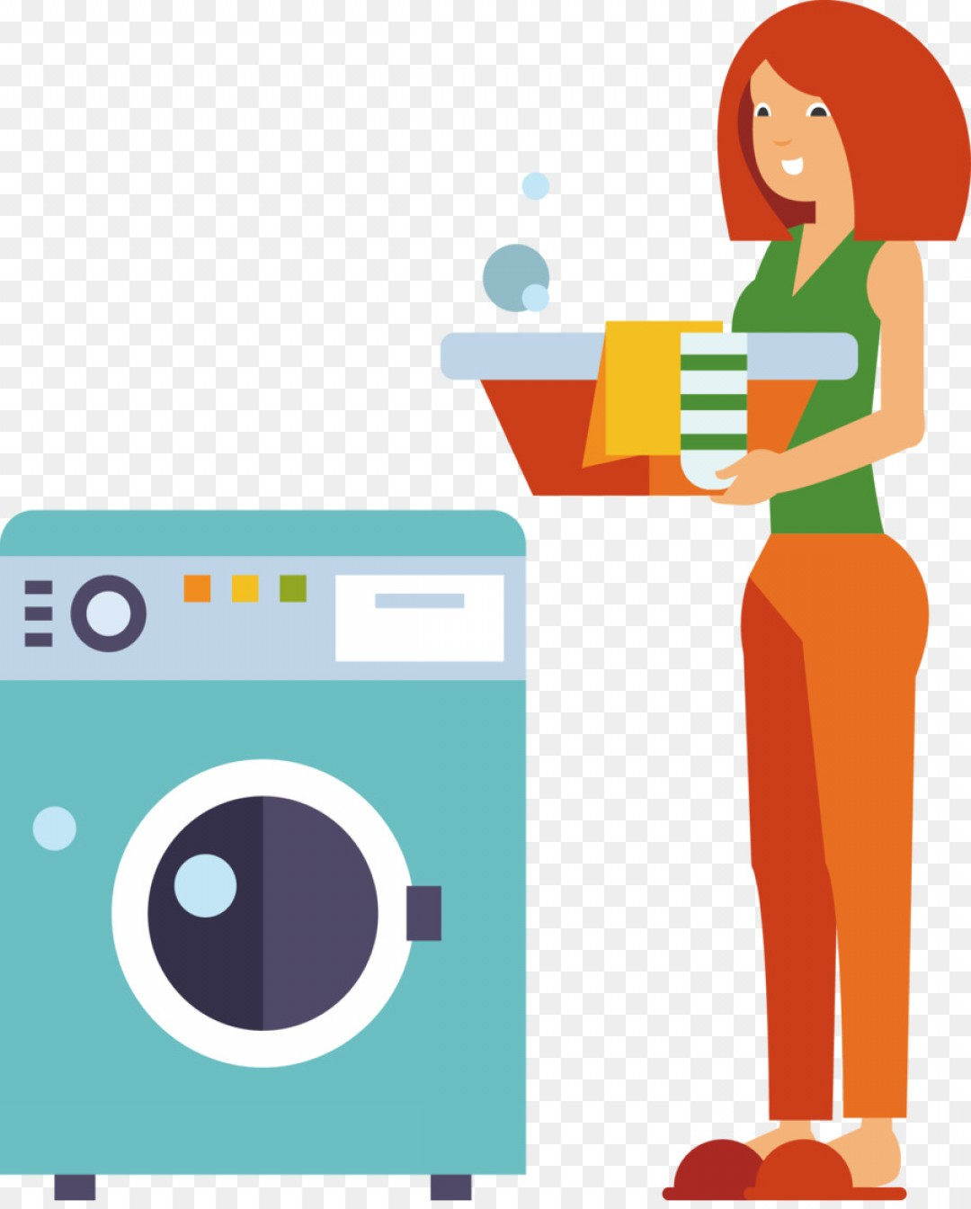 Washer Machine Vector Decal: Png Washing Machine Laundry Room Ironing Wash Your Clo