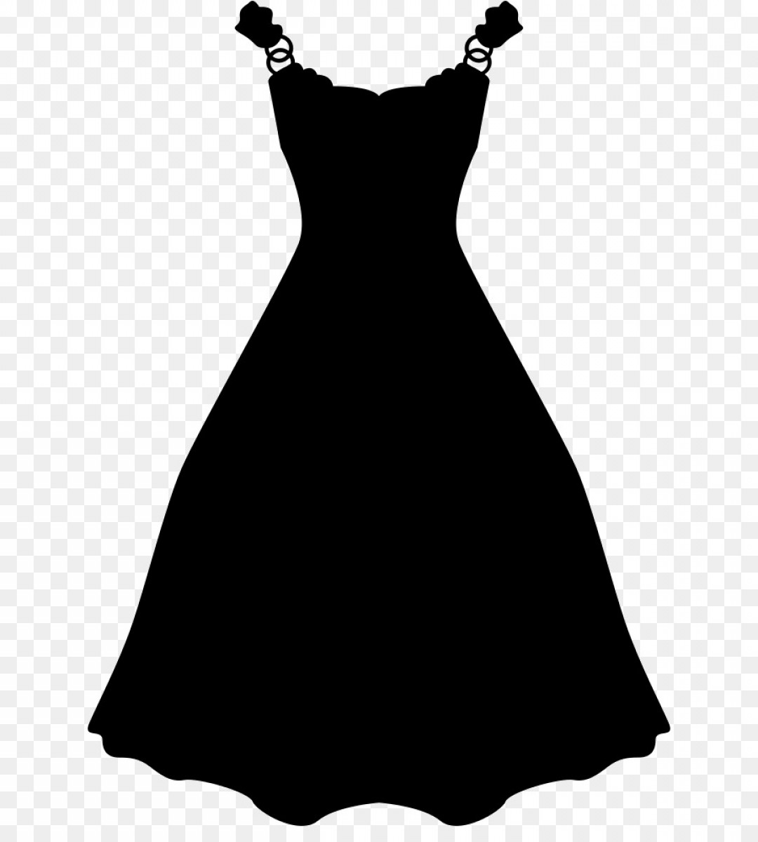 Vector Images Of Black And White Dresses: Png Wedding Dress Little Black Dress Evening Gown Clot