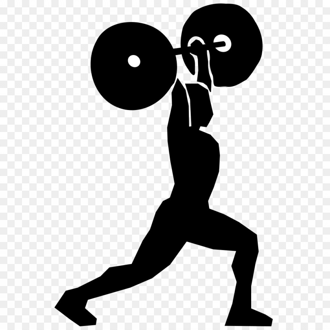 Vector Weight Lifting: Png Weight Training Olympic Weightlifting Scalable Vec