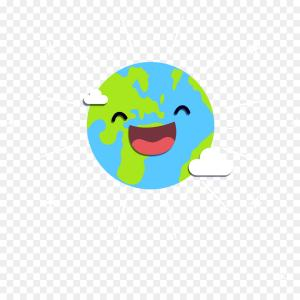 Smile Vector Art: Yummy Smile Cartoon Emoticon With Tongue Lick Vector