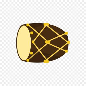 Kick Drum Vector: Png Drum Icon Vector Flat Tribal Drums