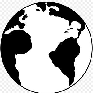 Png Earth Black And White Drawing Clip Art Free Vector
