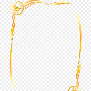 Square Gold Frame Vector PNG: Antique Gold Frame Vector