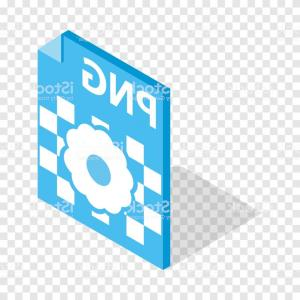 File Extension Vector Art: Png Image File Extension Isometric Icon Gm