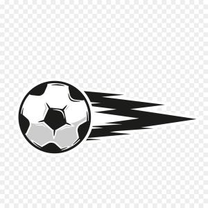 Football Vector Wallpaper: Creative Soccer Football Vector Design Template