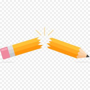 Broken Pencil Vector: Photostock Vector Set Of Different Crumpled And Torn Sheets Of Paper Broken Pencil Vector Graphics
