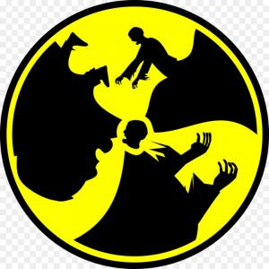 Radioactive Symbol Vector: Png Radioactive Decay Symbol Radiation Warning Sign Cl