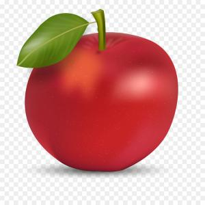 Red Apple Vector Logo: Png Red Red Apple Vector Red Apple