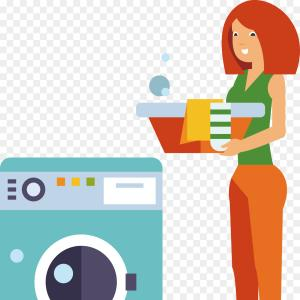 Washer Machine Vector Decal: Dry Cleaning Logo Svg Laundry Basket