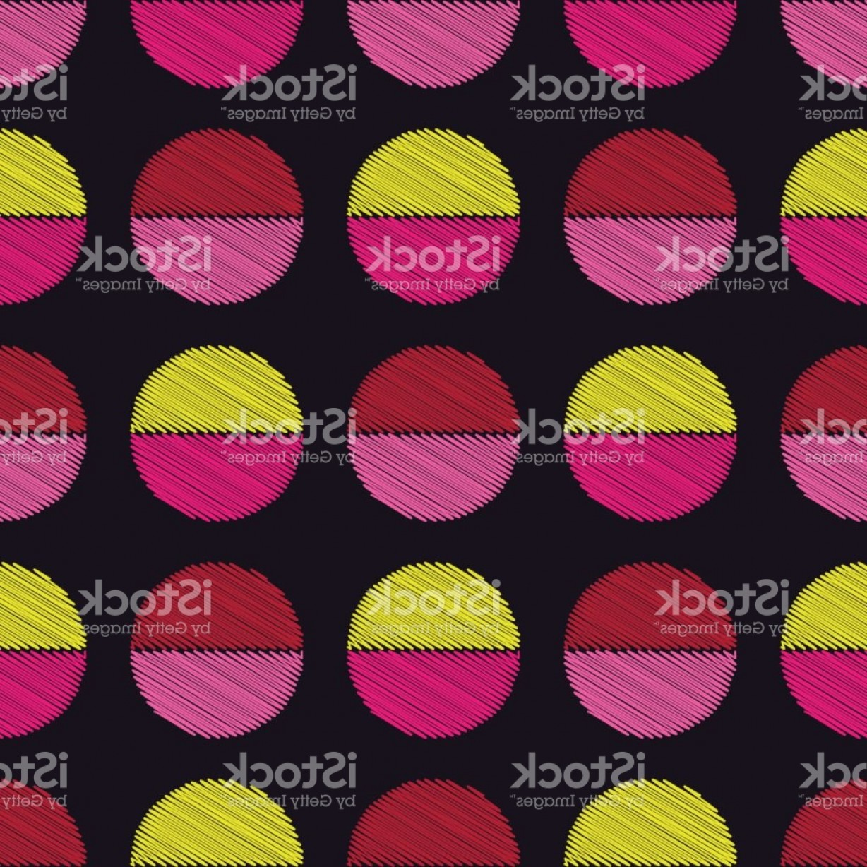 Rapport Vector: Polka Dot Seamless Pattern Scribble Texture Textile Rapport Gm