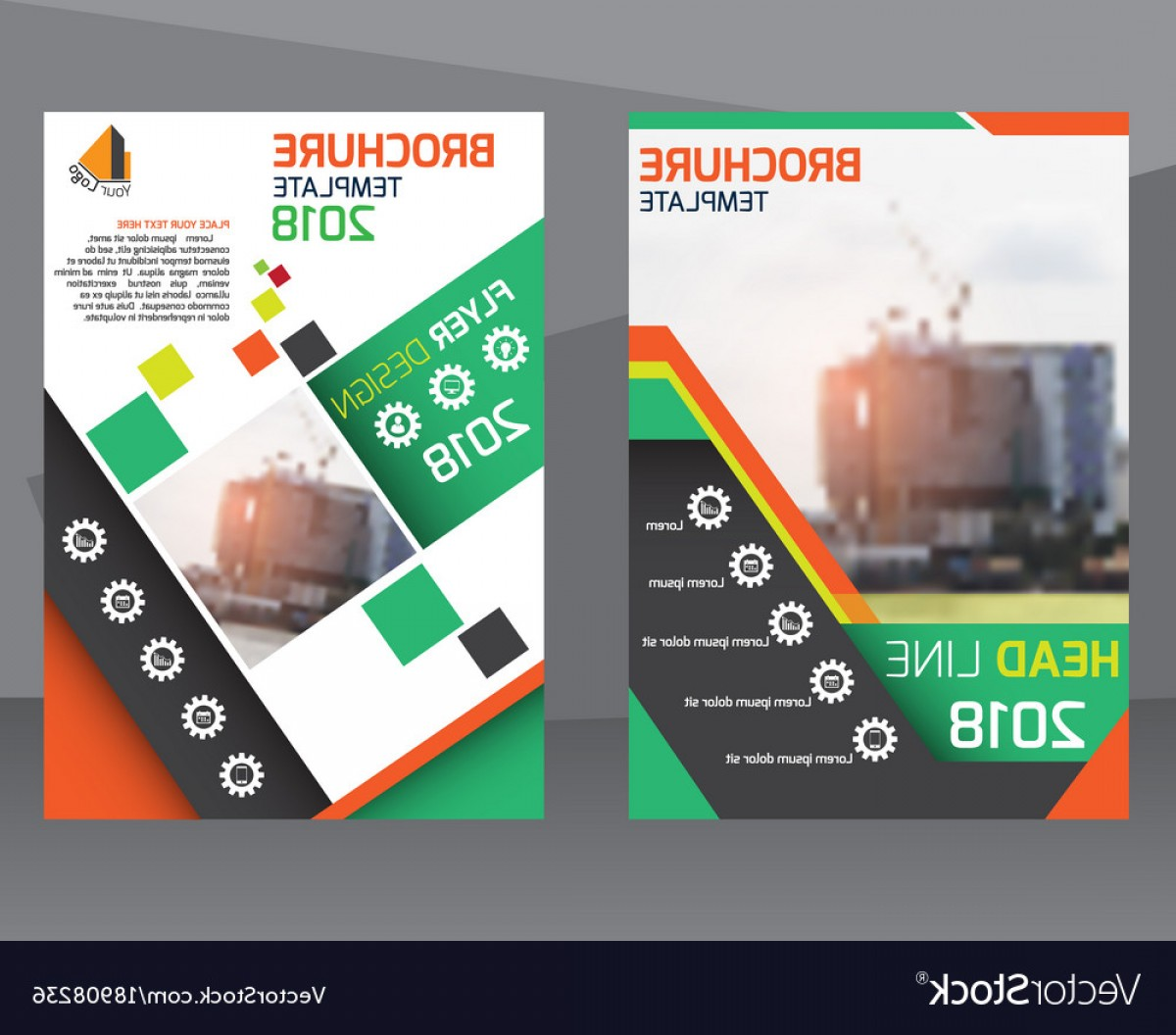 Vector Brochure Cover Designs: Poster Flyer Pamphlet Brochure Cover Design Vector