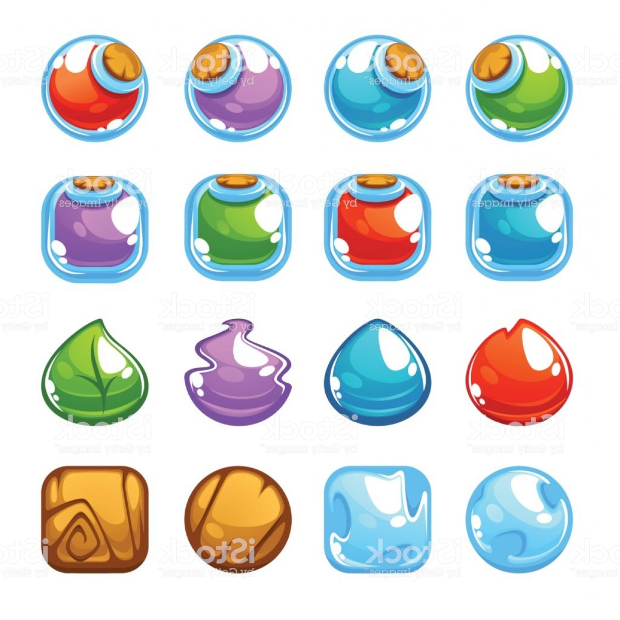 Vector Maker: Potion Maker Bubble Shooter Match Vector Objects And Blocks Gm