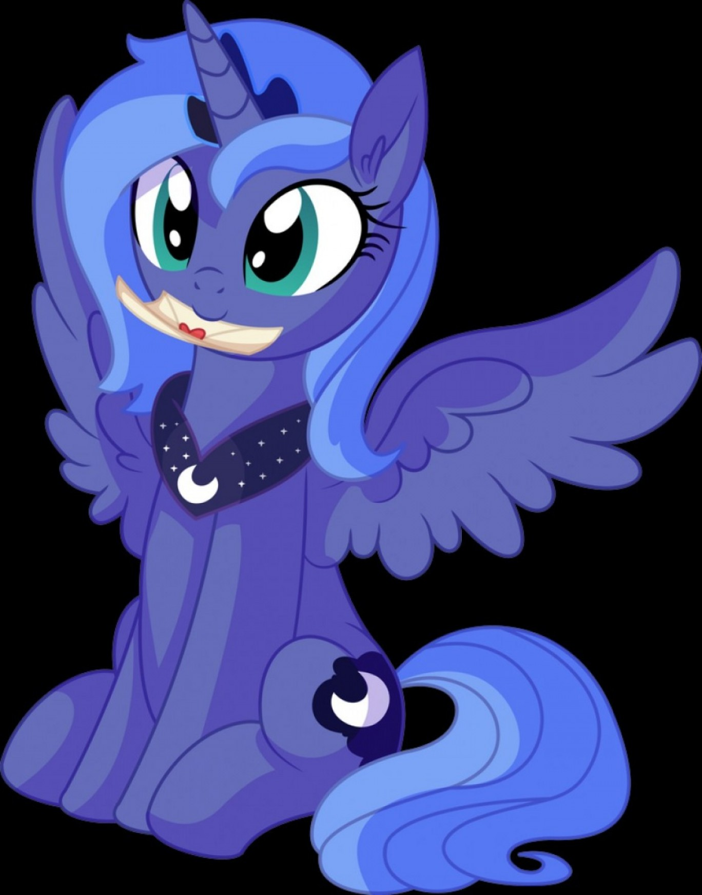 Vector From Sonic DeviantART: Princess Luna Vector Letter From A Princess