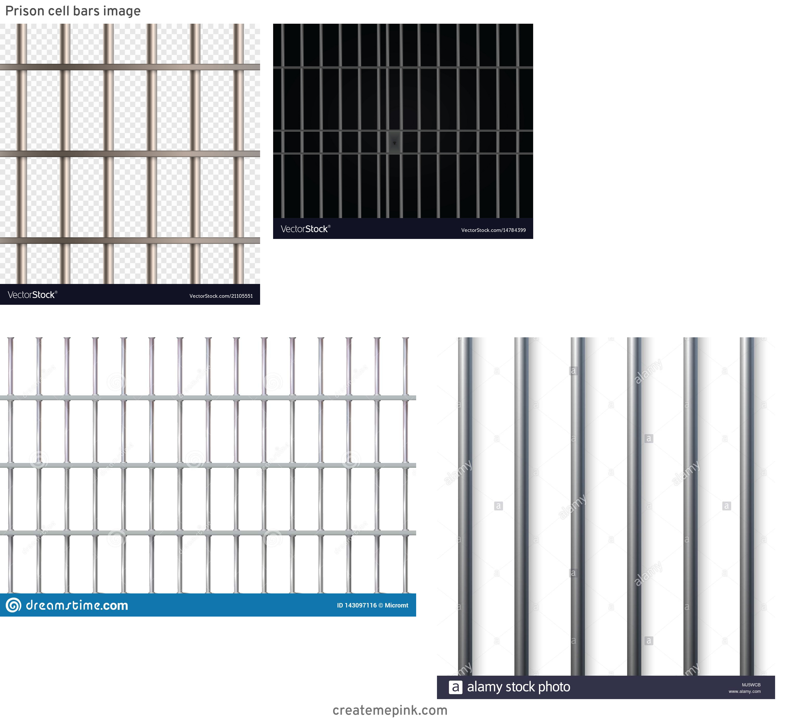 Jail Cell Vector: Prison Cell Bars Image