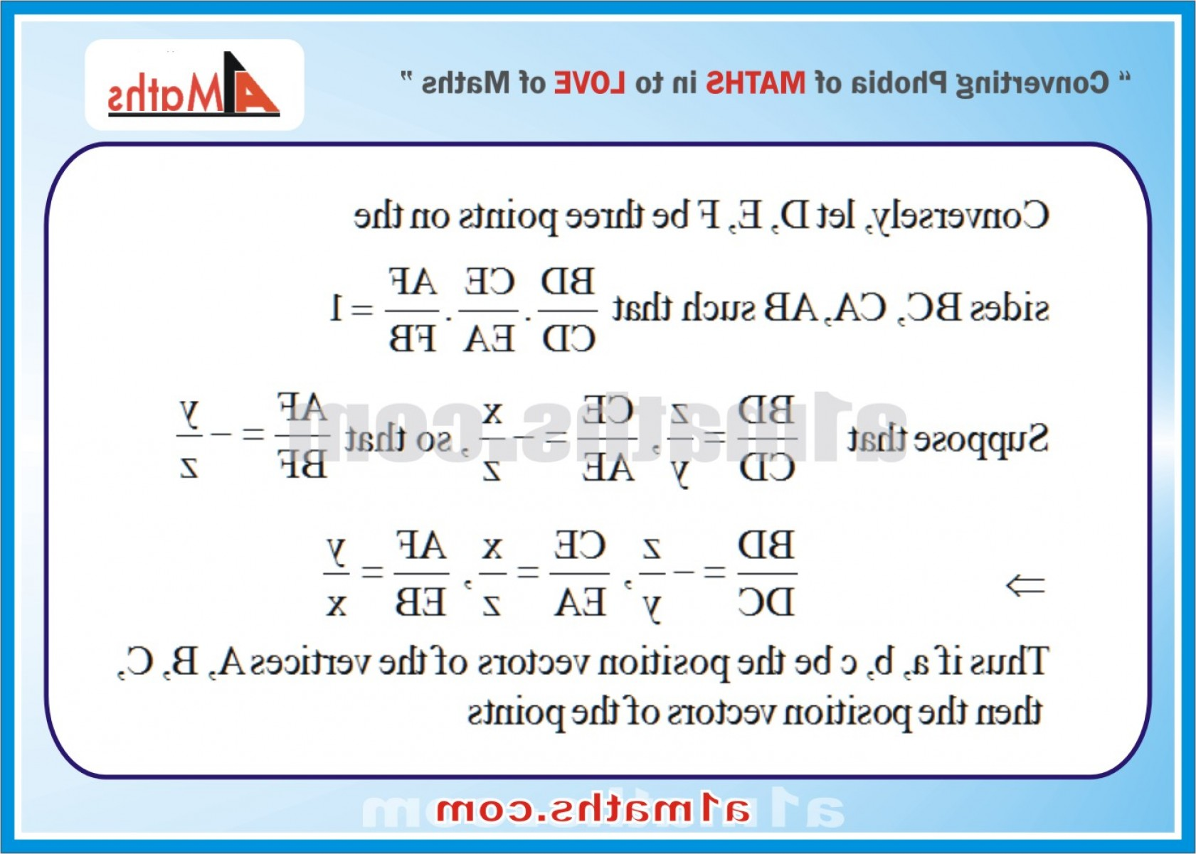 Calculus 3 Vectors: Problems With Solutions Vectors Vectors And D Geometry Iit Jee Maths Mains Advanced Free Study Notes