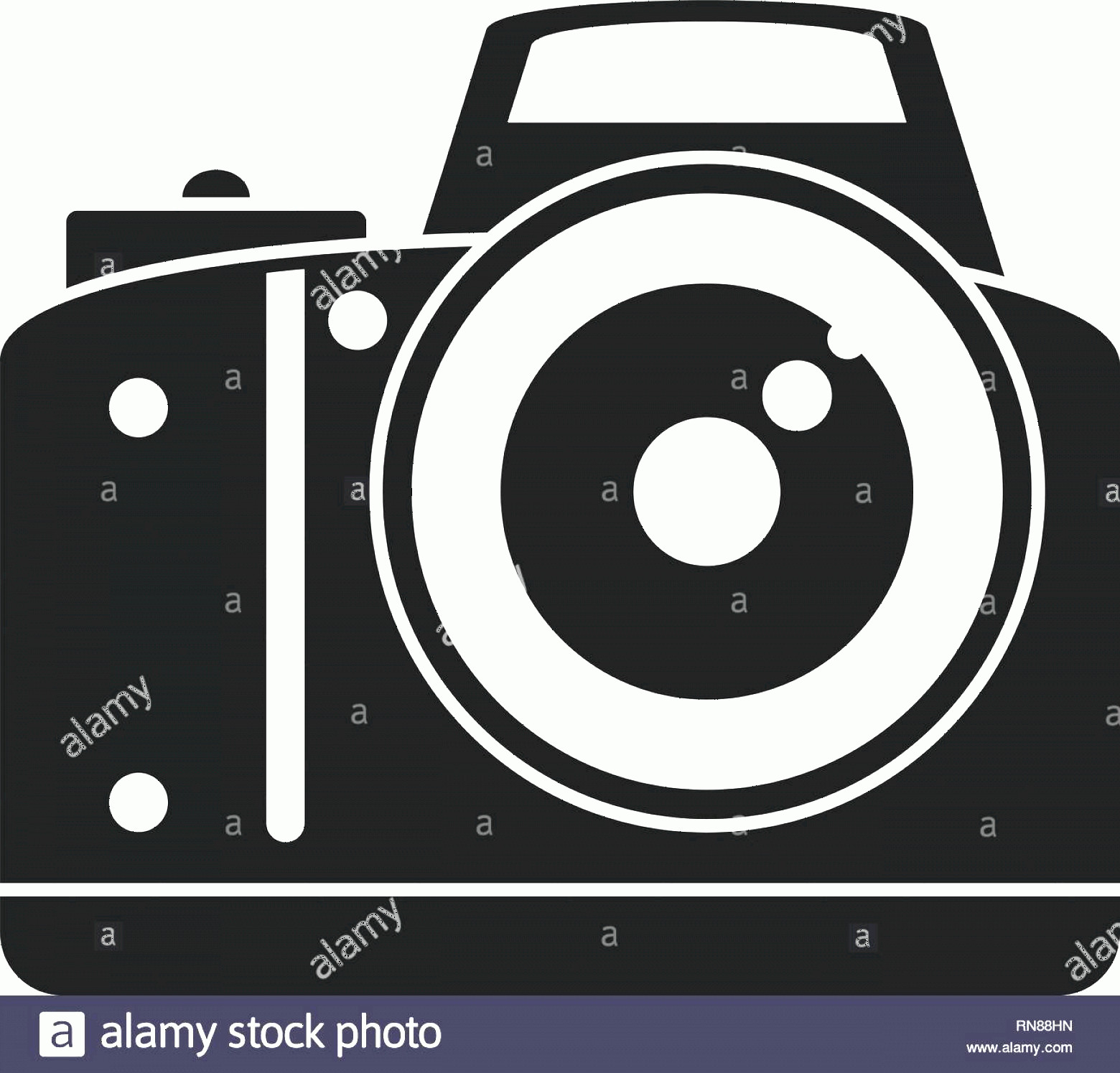 Classic Camera Vector: Professional Camera Icon Simple Illustration Of Professional Camera Vector Icon For Web Design Isolated On White Background Image