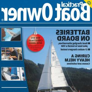 Vector Viking Ship Masthead: Practical Boat Owner December Uk