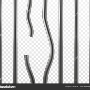 Jail Cell Vector: Stock Vector Silhouette Of A Women In A Dark Jail Cell