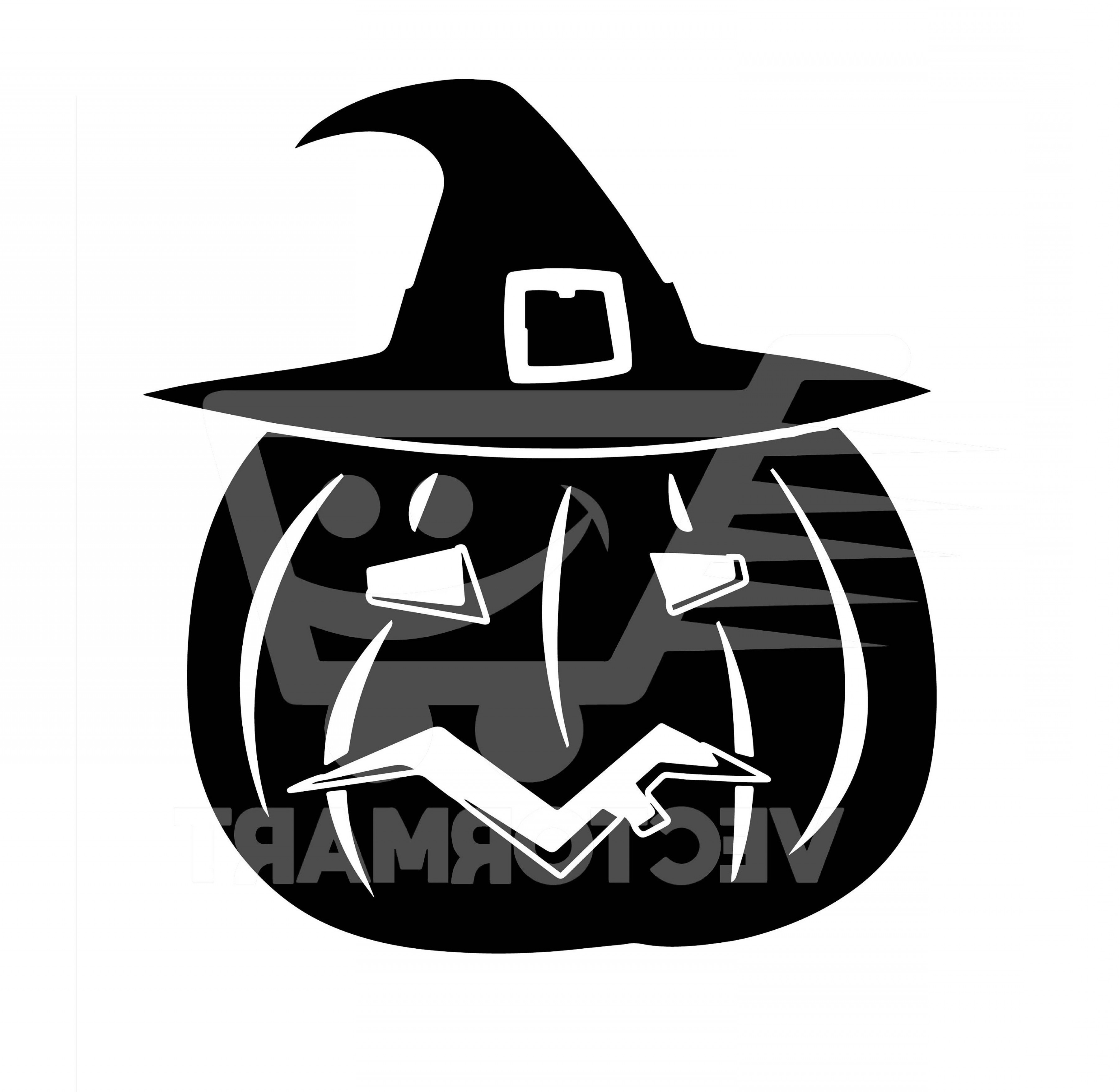 Xenomorph Vector: Pumpkin Witch Svg Vector Image Perfect