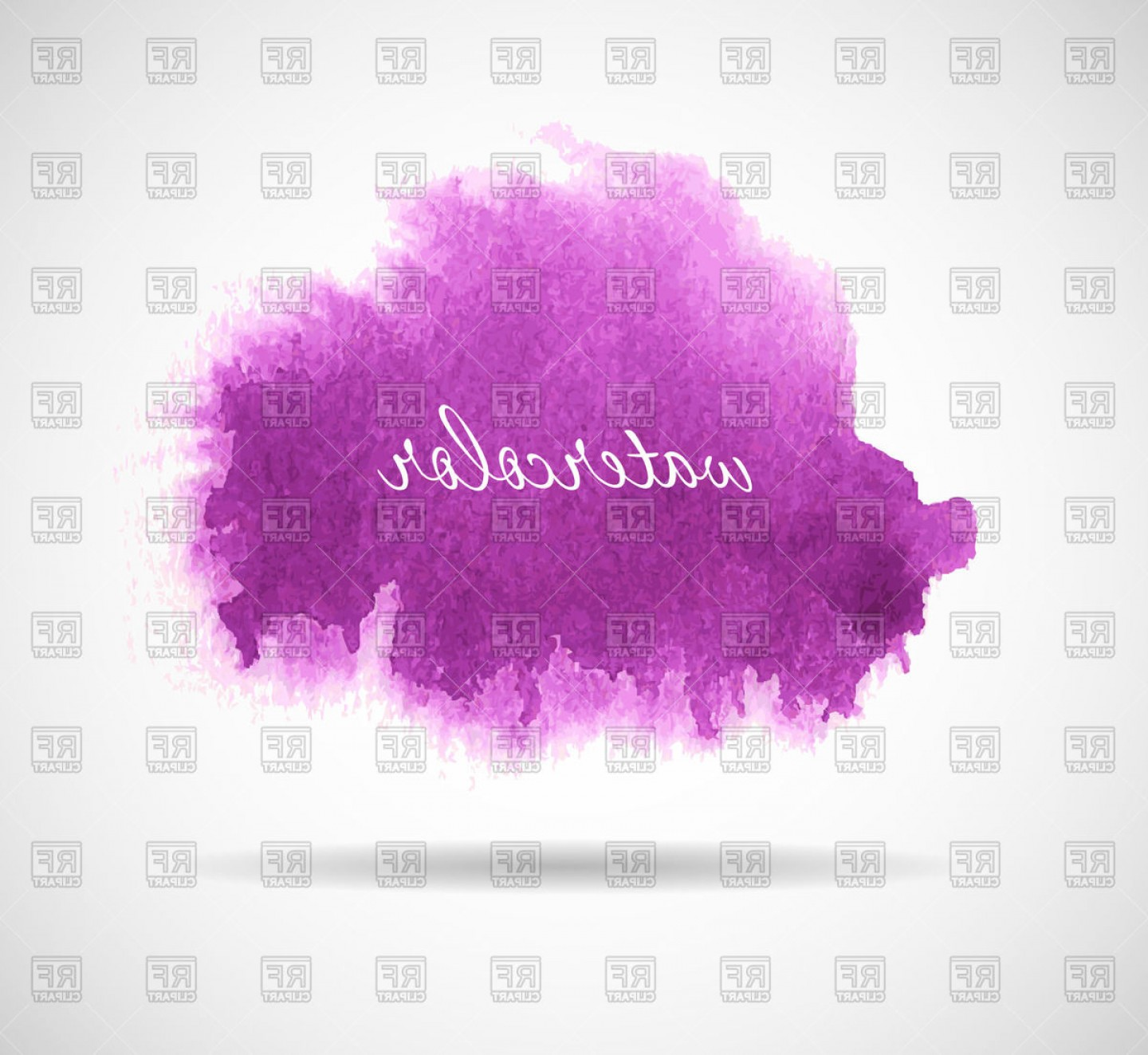 Watercolor Vector Background Free: Purple Watercolor Background Vector Clipart
