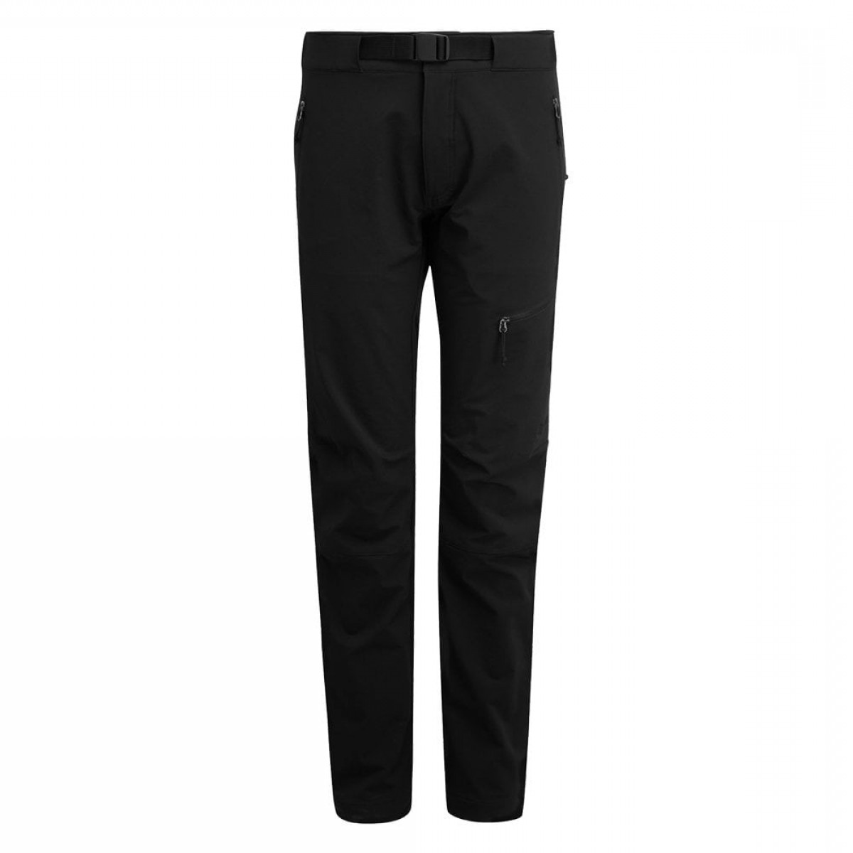 Vector Black Jeans: Rab Womens Vector Softshell Pants P