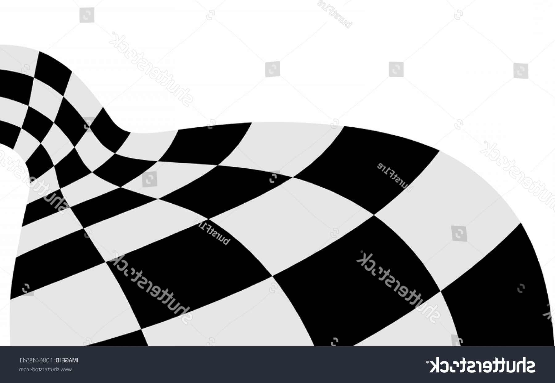 Black And White Vector Racing Graphics: Race Flag Checkered Vector Bakcground Black