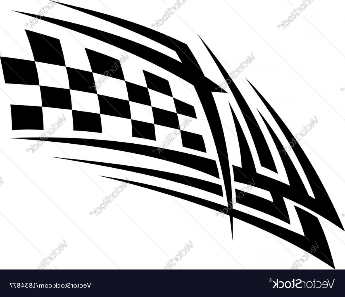 Victory Motorcycles Logo Vector: Racing Tattoo In Tribal Style Vector