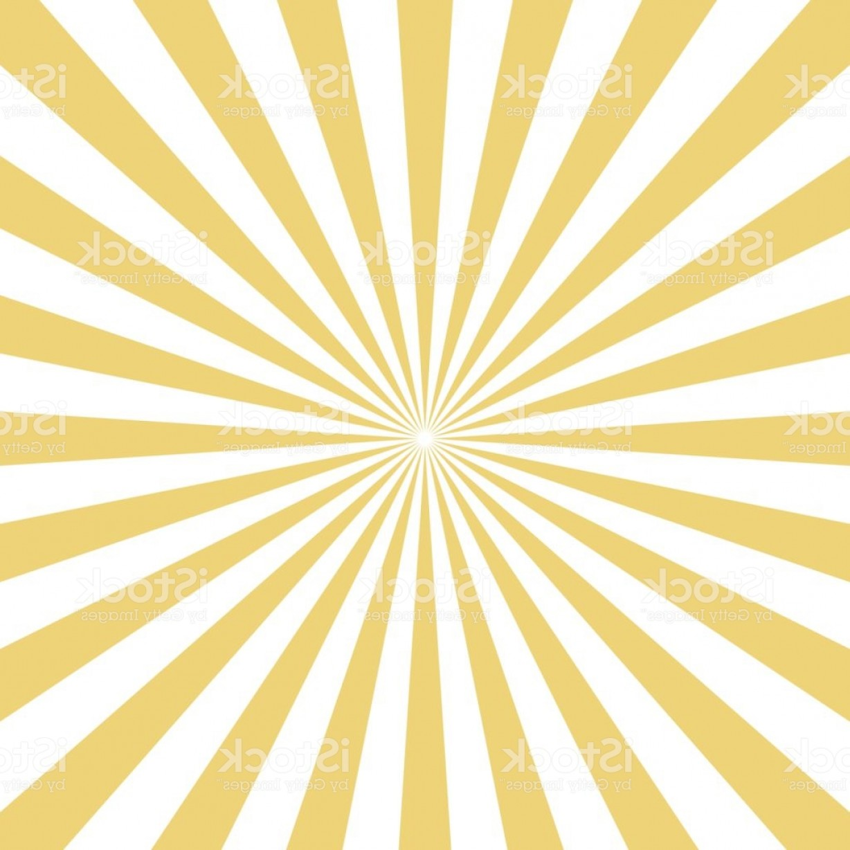 Backgroung Vector: Radial Yellow Sun Burst Beams On White Background Vector Gm