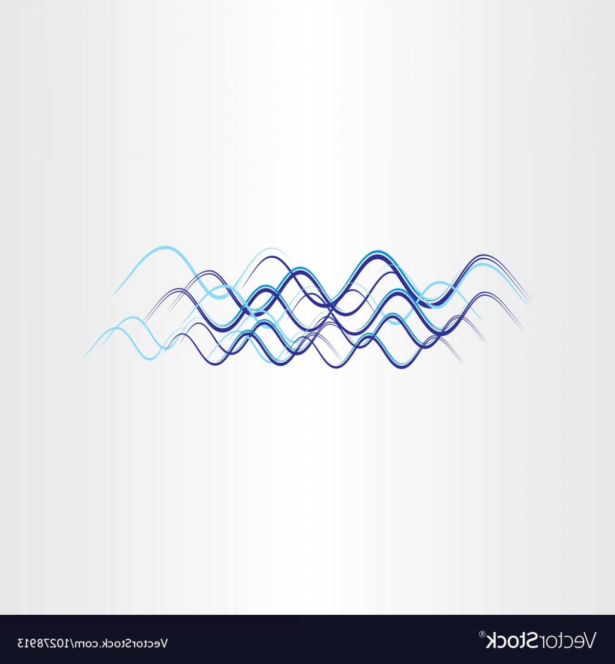 Frequency Icon Vector: Radio Waves Frequency Icon Vector