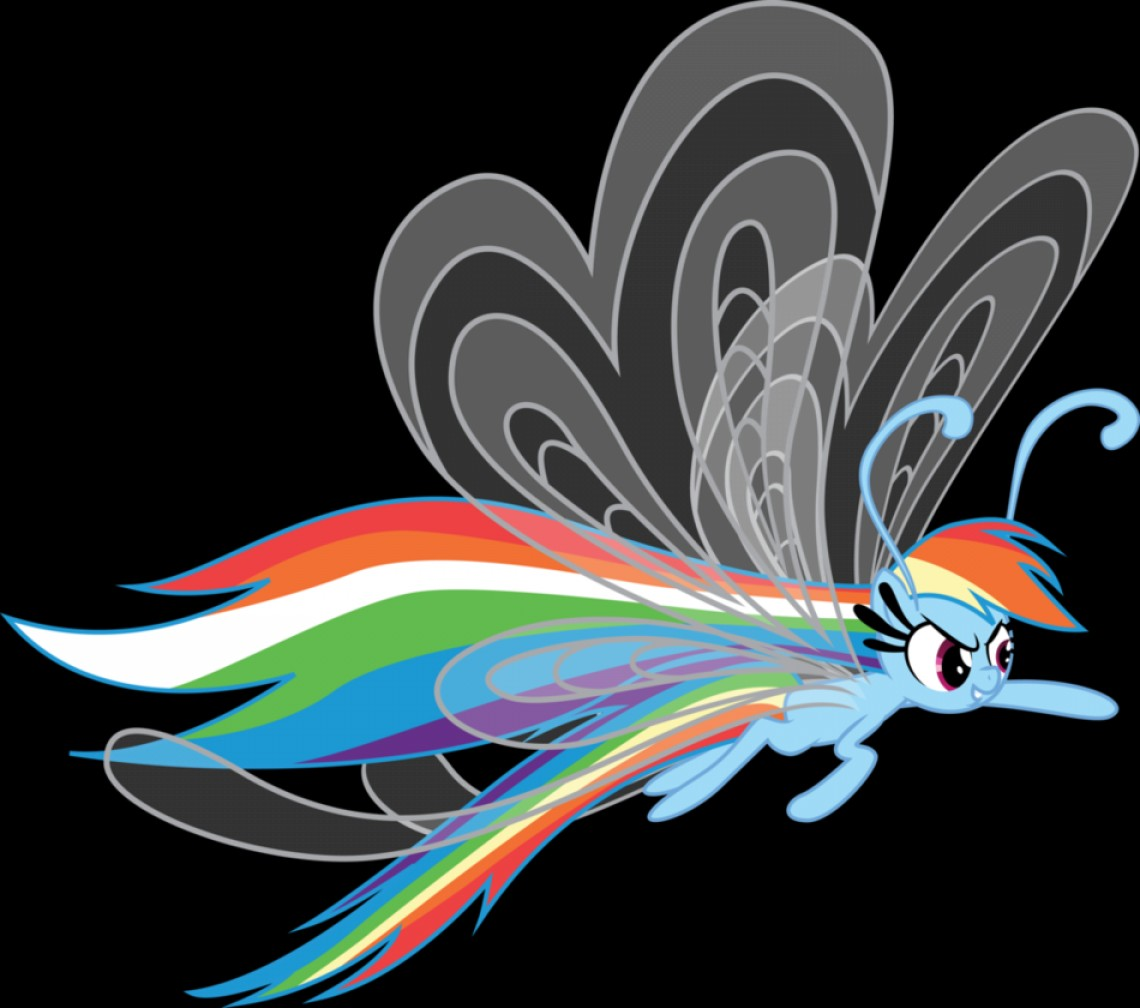 Breezies MLP Vector: Rainbow Dash Breezie Post Show Airing