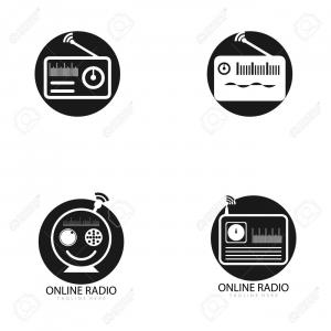 Radio Show Icon Vector: Radio Icon Station Symbol Fm Antenna Vector