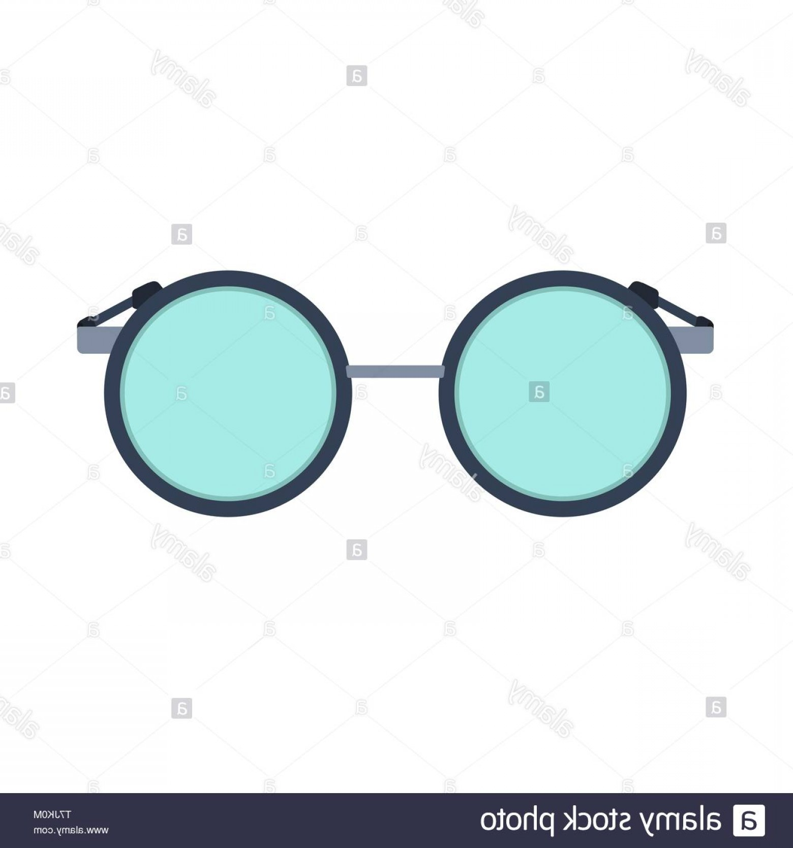 Reading Glasses For Men Vector: Reading Glass Vector Icon Eye Lens Vision Isolated Fashion Spectacle Frame Optical View Accessory Flat Geek Round Symbol Image
