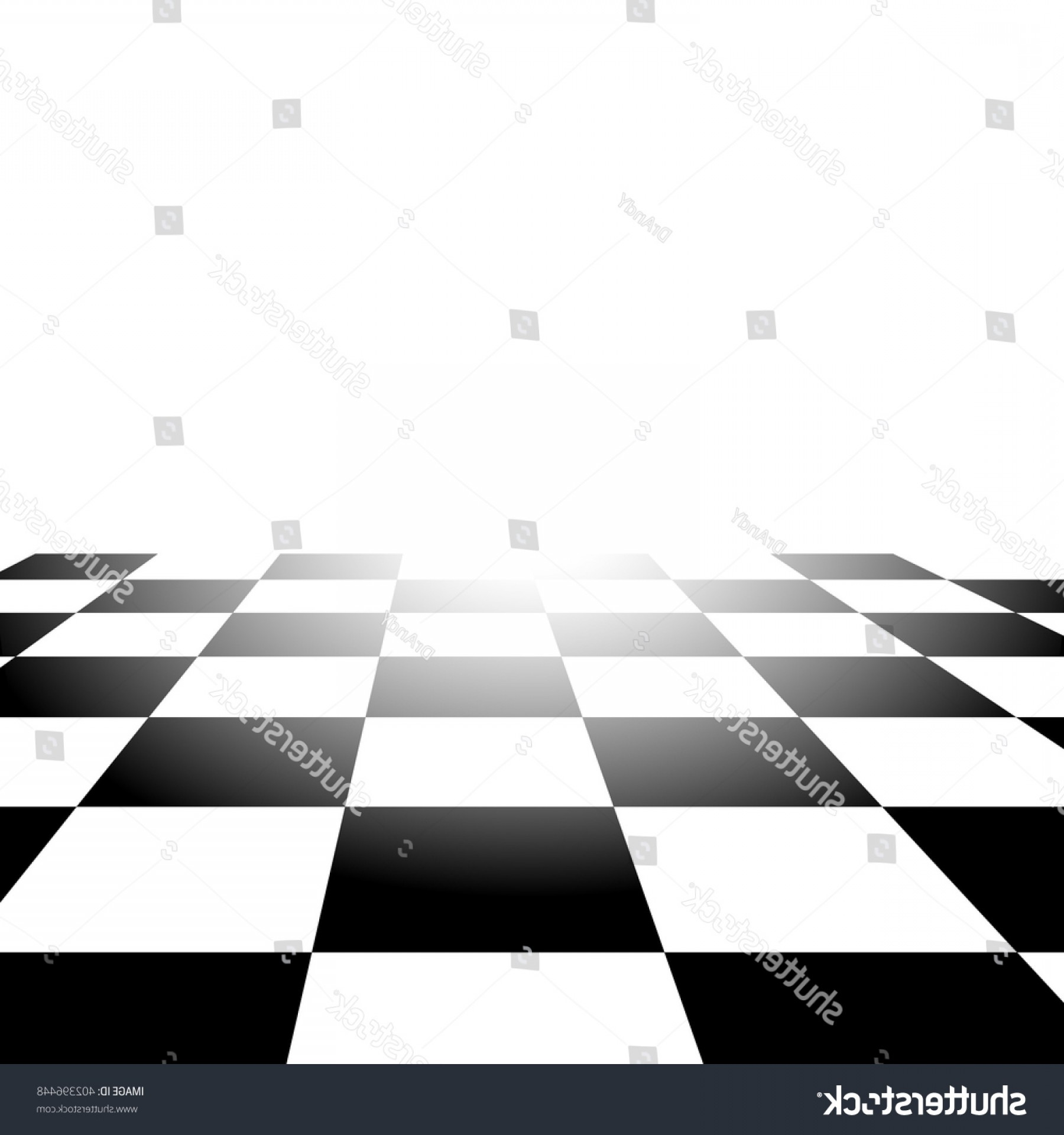 Chess Vector Background: Realistic Chess Board Abstract Vector Background