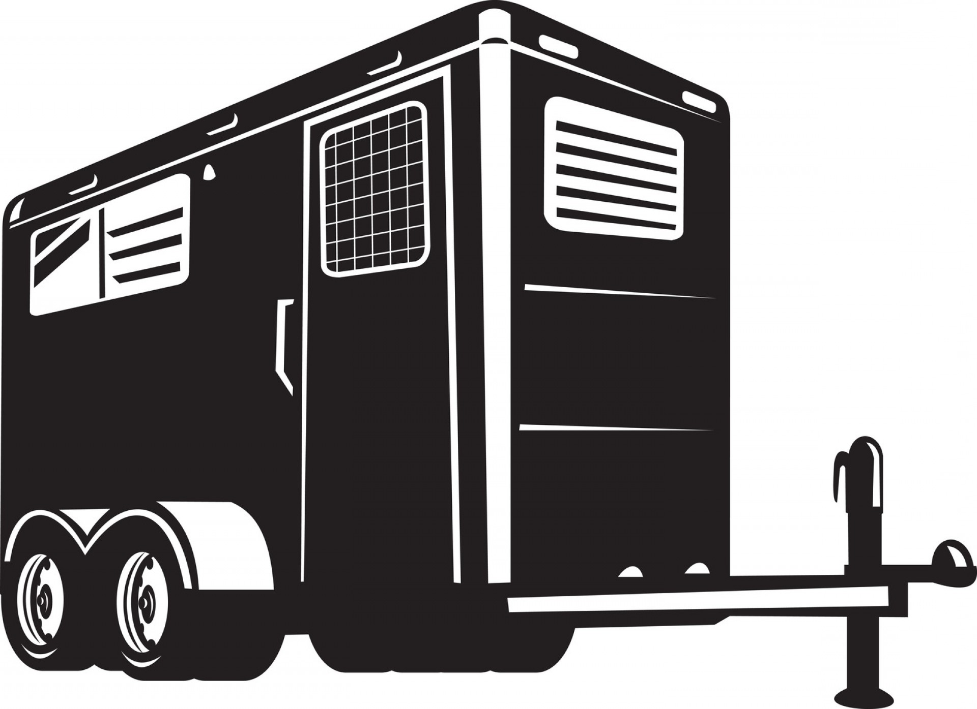 U-Haul Logo Vector Clip Art: Reasons To Rent An Enclosed U Haul Trailer When Moving Great Day Clip Art