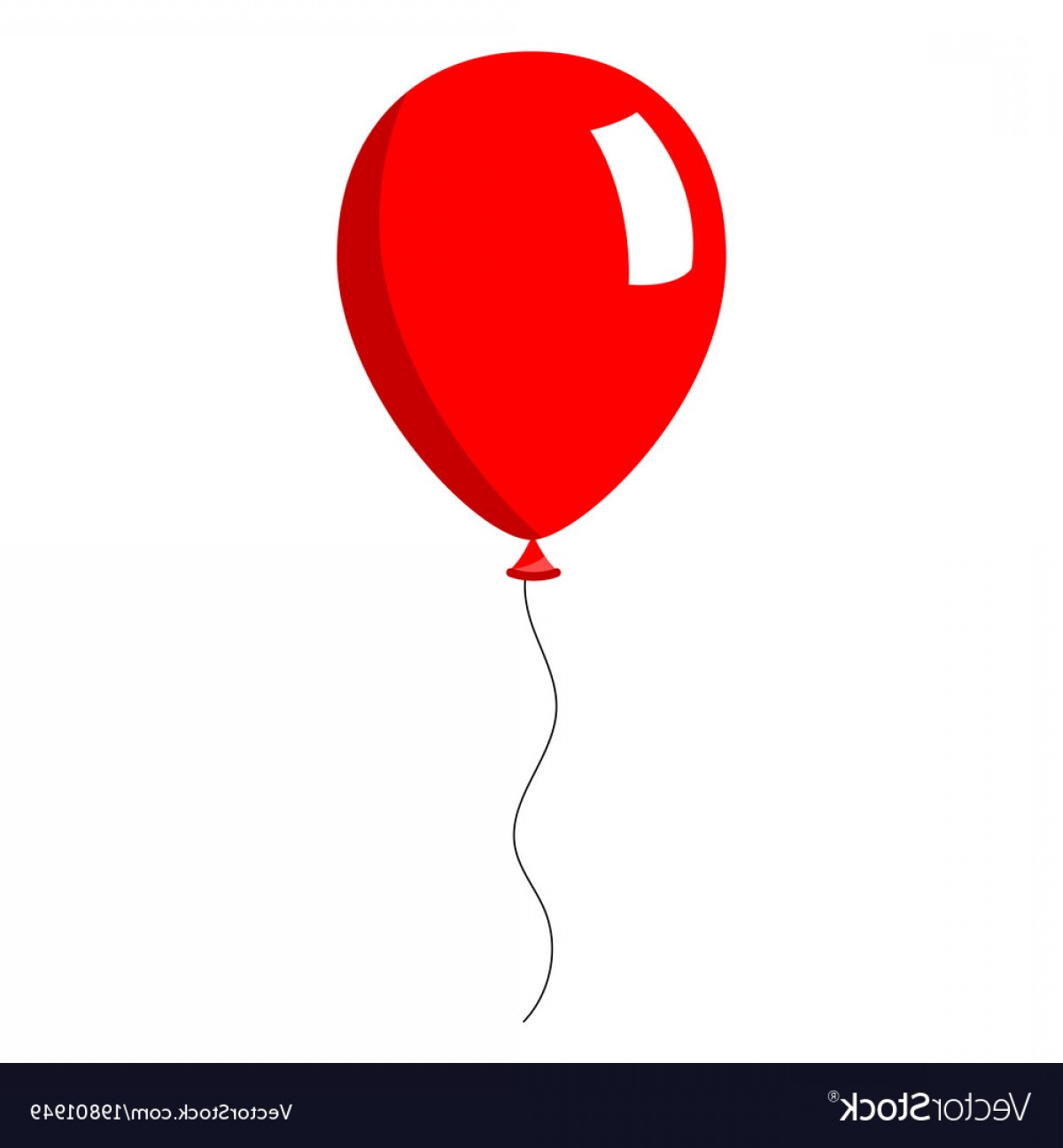 red balloon on white background vector createmepink 25th anniversary free vector 25th anniversary logo vector free download