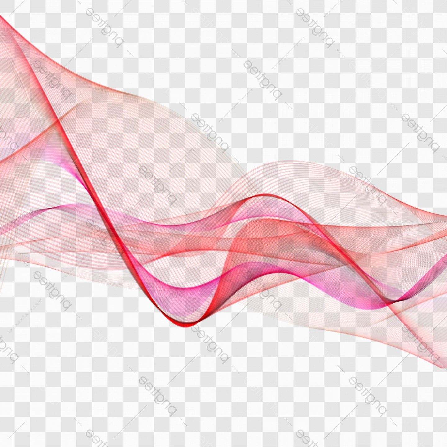 Free Vector Backgrounds Illustrator Free Download: Red Beautiful Wave Vector Background Illustration