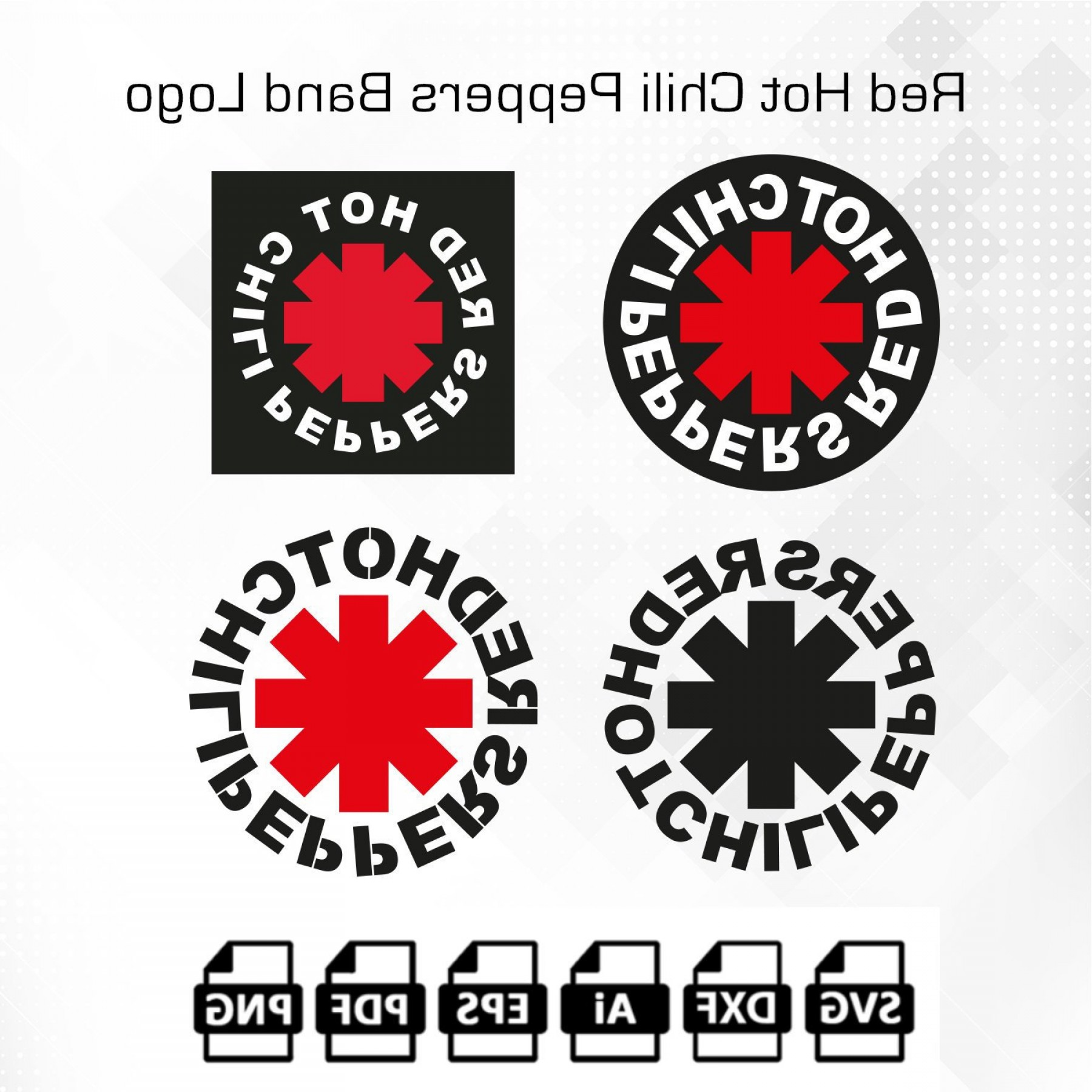 Houston Texans Lettering Logo Vector: Red Hot Chili Peppers Svg Logo American