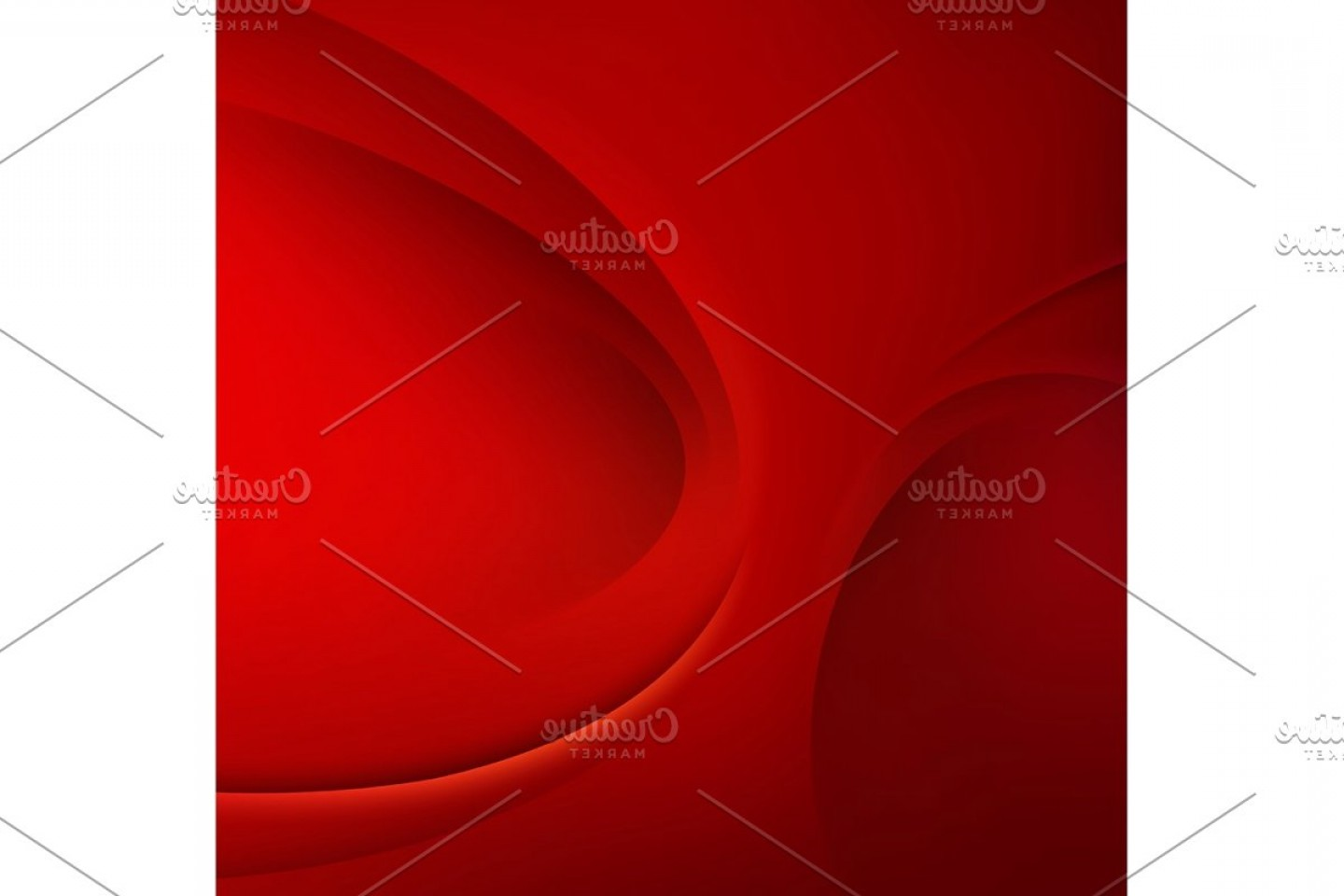 YouTube RedVector Real Life: Red Vector Template Abstract Background With Curves Lines And Shadow