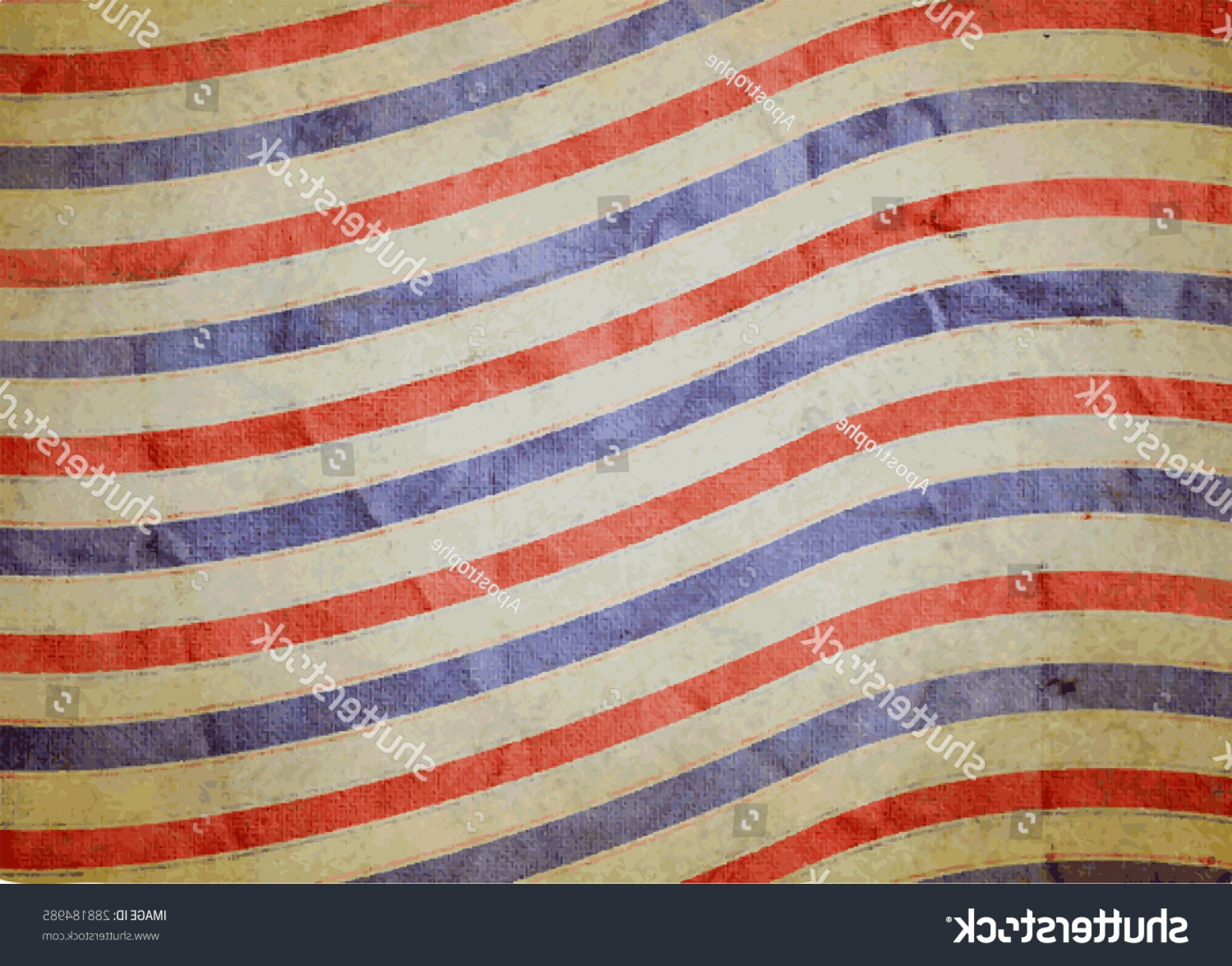 Distressed Red Background Vector: Red White Blue Background Vector Vintage