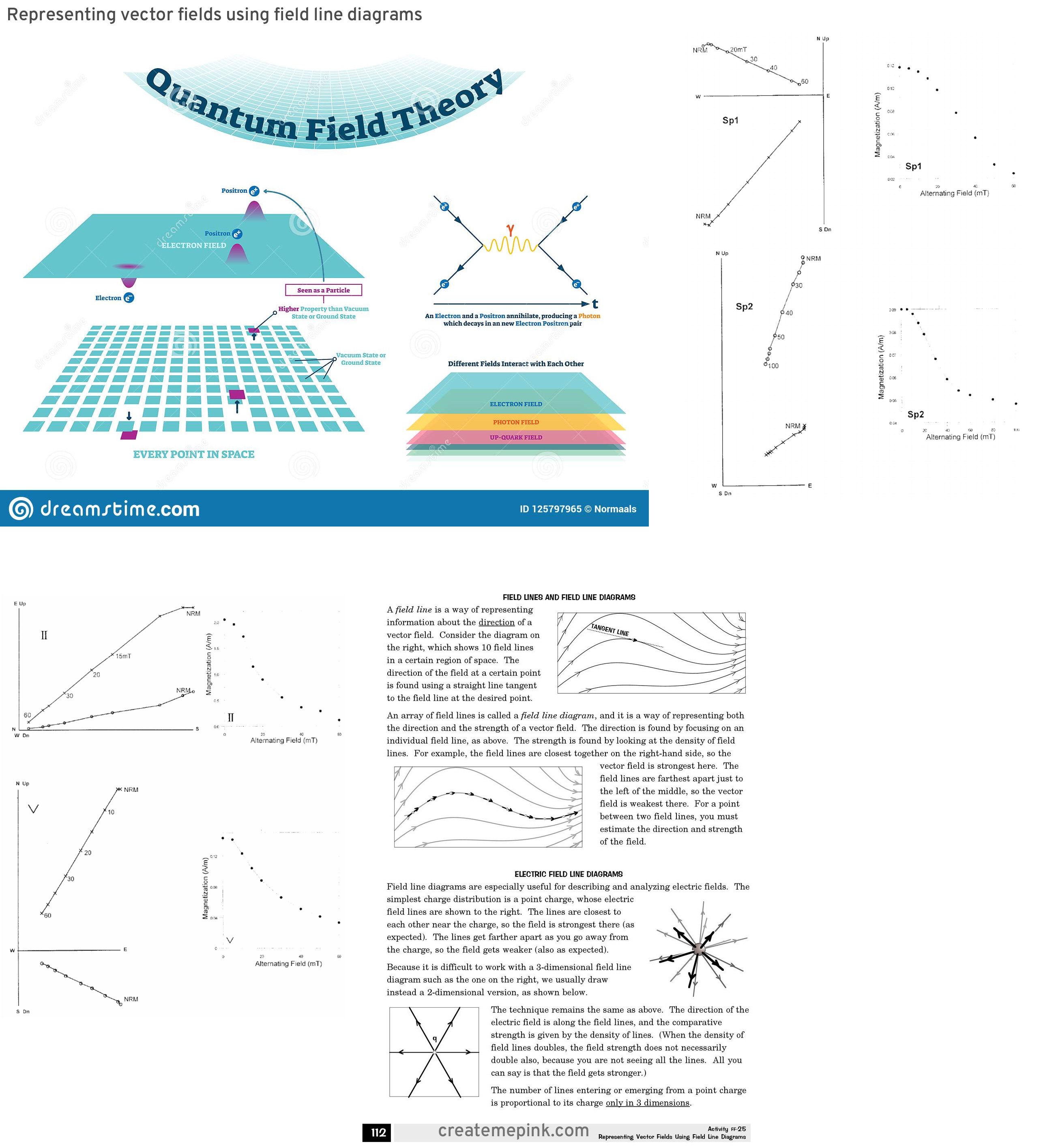 Field Vector Diagrams: Representing Vector Fields Using Field Line Diagrams