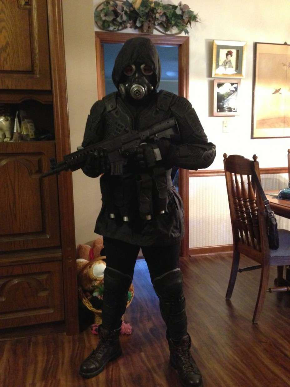 Vector Cosplay: Resident Evil Vector Cosplay Pre O R C W I P